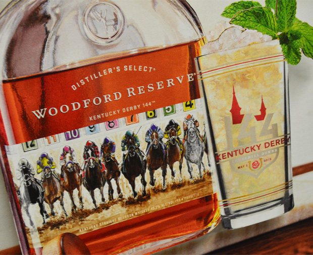 Seasonal Case Card - Woodford Reserve