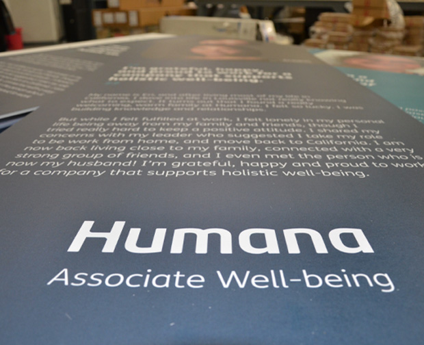 Marketing Display Sign - Humana