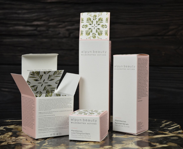 Custom Packaging - Alpyn Beauty