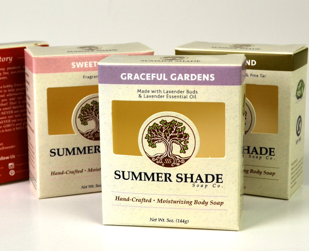 Custom Packaging - Summer Shade