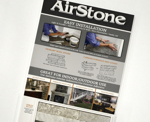 Custom Retail Display - Airstone